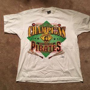 Vintage Pittsburgh pirates baseball champs t shirt